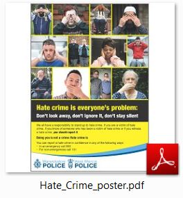 Capture policeposter
